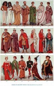 i secoli e la moda