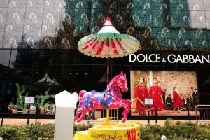 moda italiana a Shanghai