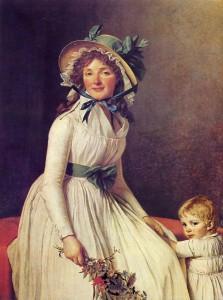 dipinto Madame Seriziat