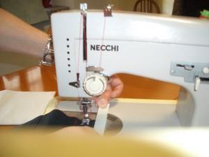 inserimento del nastro adesivo