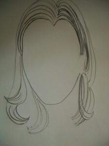 particolare capelli