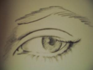 studio occhi esercizio mano libera