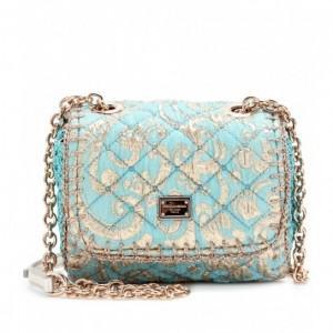 Dolce & Gabbana pochette in jacquard trapuntata