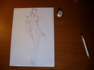 incomincia a disegnare il modello