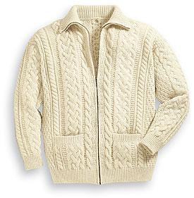 maglione giacca di lana