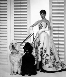 abito di Audrey Hepburn realizzato dalle sorelle Fontana