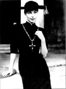 abito storico ideato per Ava Gardner