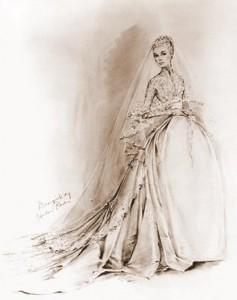 bozzetto abito Grace