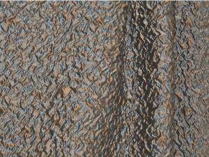 tessuto goffrato in fibra sintetica