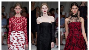 Oscar De La Renta fashion week New York