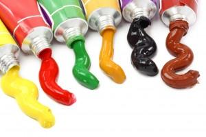 colore per pittura a olio