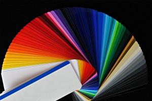 ventaglio della tavolozza colori