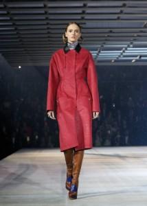 Dior cappotto marsala