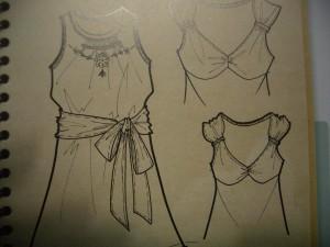 scheda tecnica di abiti