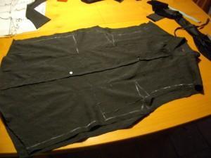 disegno modello su camicia