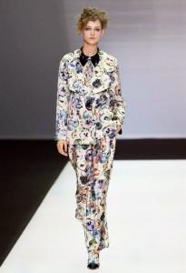 Primavera moda sfilata di Armani