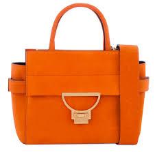 borsa arancio Coccinelle