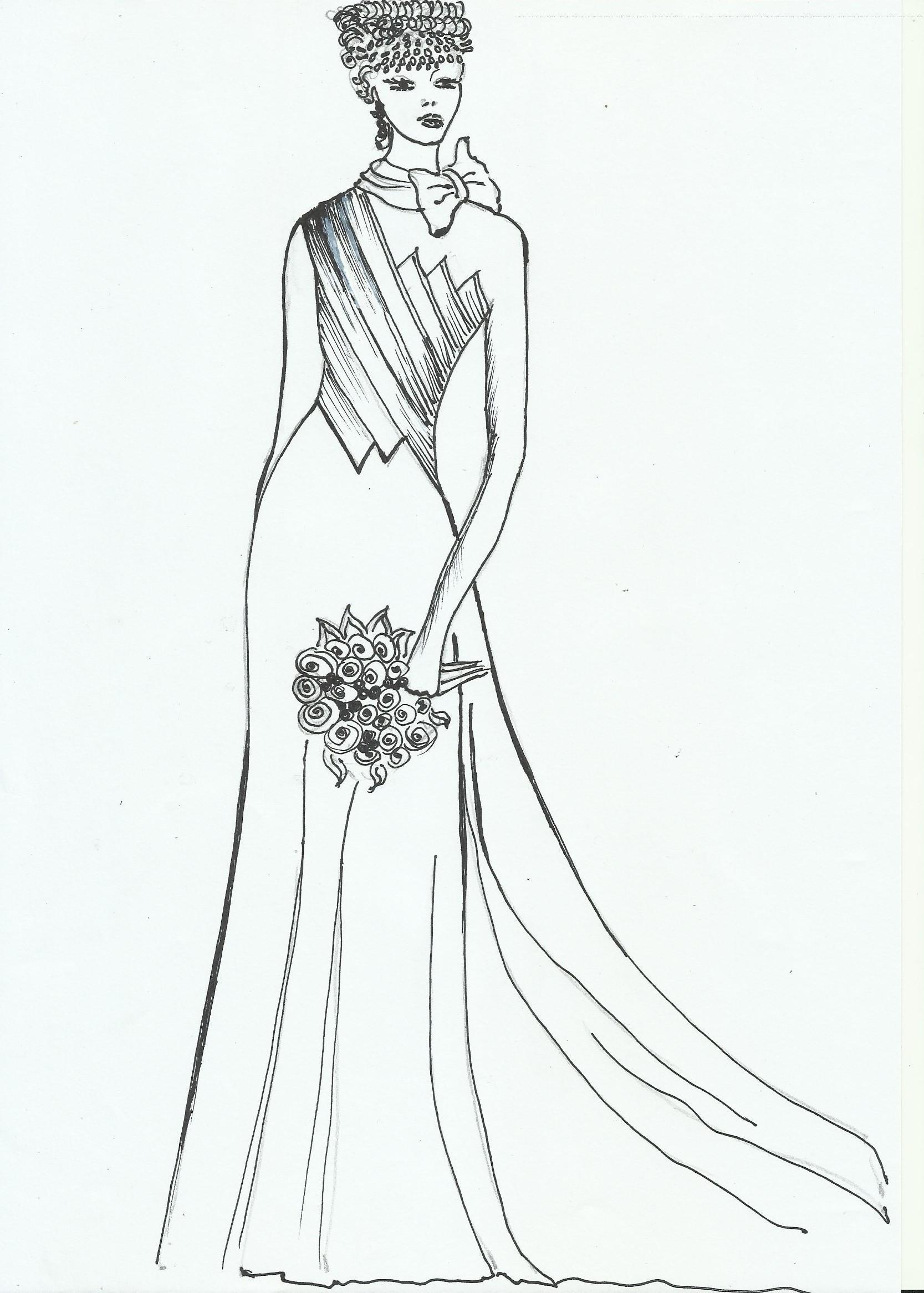 prezzo di fabbrica 98555 a1a73 Cartamodello sposa, indicazioni per un abito » Fashion Frozen