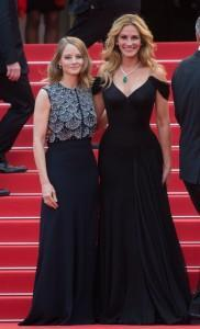 Jodie Foster e Julia Roberts look a Cannes 2016