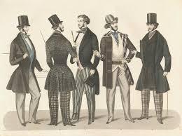 abiti uomo intorno al 1900