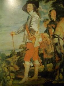 dipinto ritratto Carlo I 1632