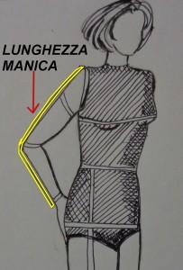 Lunghezza manica
