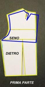 modifiche su corpino per schiena dietro rovesciata