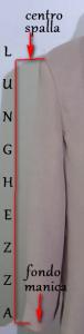 Manica giacca