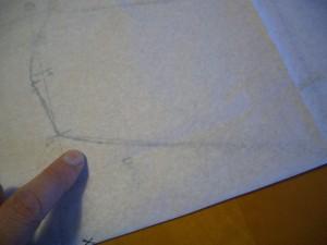 nota che il foglio è trasparente