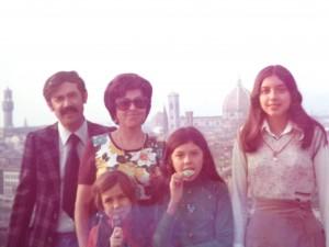 Chi sono? Io con la mia famiglia