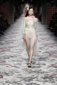 abito collezione Gucci primavera estate