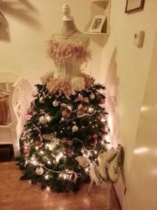 abito  ad albero di Natale