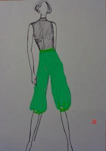pantalone alla tirolese