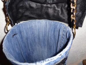 particolare interno borsa