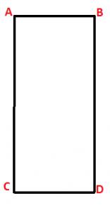 rettangolo schema