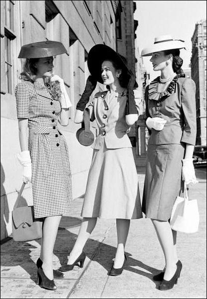 Top Moda anni 40 - Alla scoperta del Look e dello Stile anni 40 EW48
