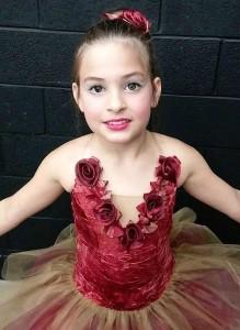 ballerina con tutù in tulle
