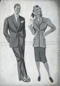 moda anni 40