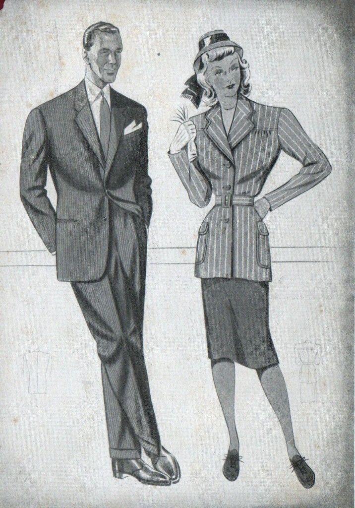 wholesale dealer d2b40 84c8c Moda anni 40 - Alla scoperta del Look e dello Stile anni 40