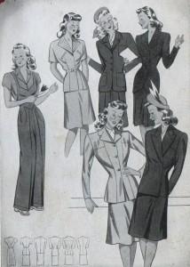 stile anni 40