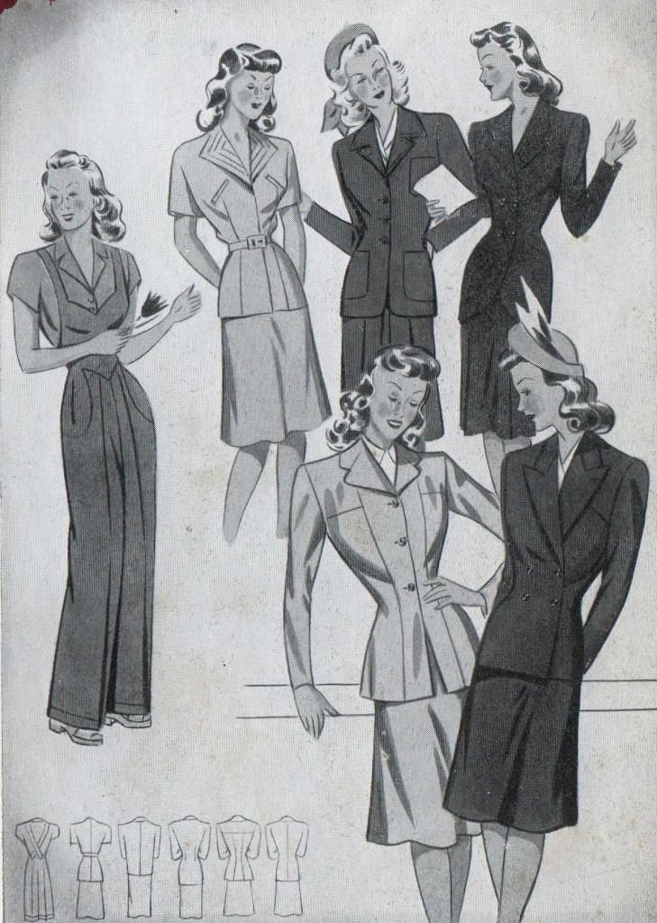 wholesale dealer f7c32 d1973 Moda anni 40 - Alla scoperta del Look e dello Stile anni 40