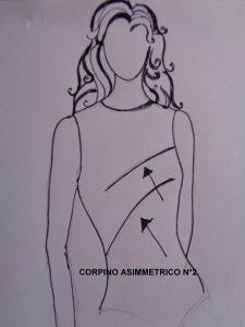 corpino asimmetrico n°2