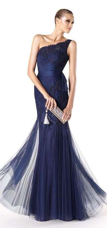 splendido abito blu