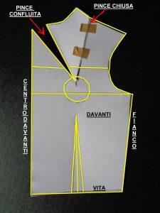 Schema cartamodello abito n°2