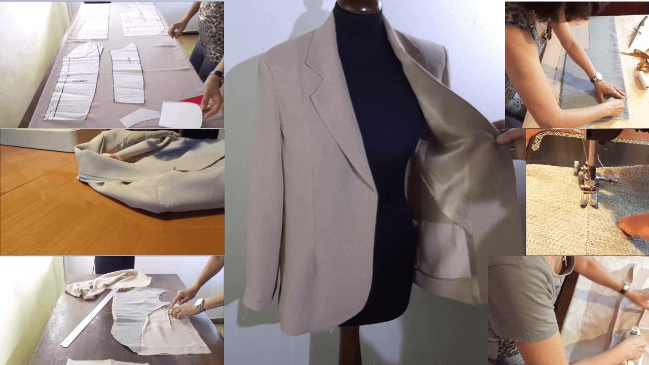 corso giacca sartoriale