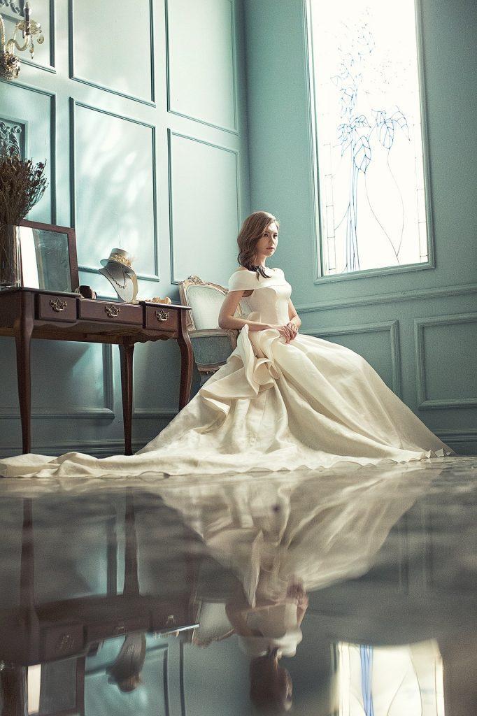 Vestito da sposa particolare