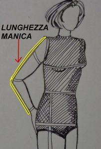 Come misurare la lunghezza del braccio per la manica