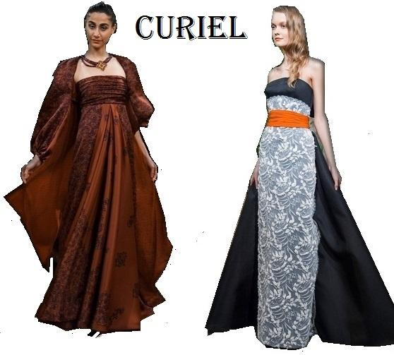 Abiti moda proposti da Curiel