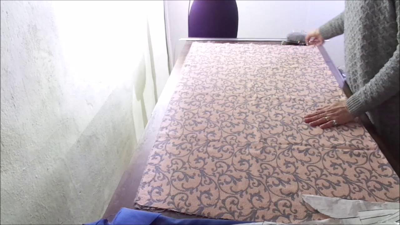 Il dritto del tessuto