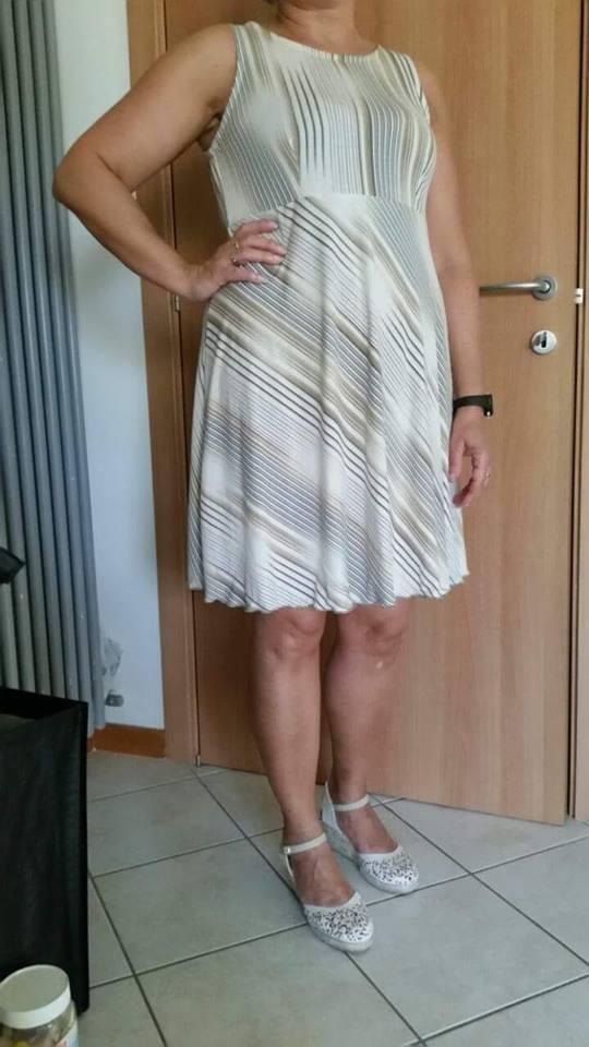 Abito di Maria Letizia Franceschini
